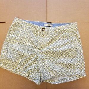 Banana republic shorts size 8 white/blue